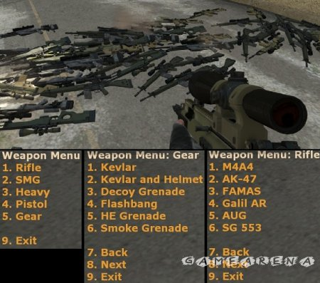 Плагин Weapon Menu [оружейка для админа] CS:GO